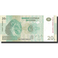 Billet, Congo Democratic Republic, 20 Francs, 2003, 2003-06-30, KM:94a, NEUF - Democratic Republic Of The Congo & Zaire