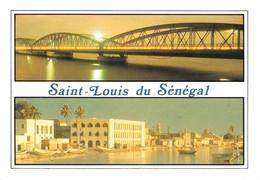 Sénégal Saint Louis Du Sénégal Divers Aspects (2 Scans) - Sénégal