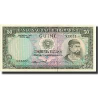 Billet, Portuguese Guinea, 50 Escudos, 1971, 1971-12-17, KM:44a, NEUF - Guinée