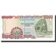 Billet, Ghana, 2000 Cedis, 1995, 1995-01-06, KM:30b, NEUF - Ghana