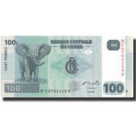 Billet, Congo Democratic Republic, 100 Francs, 2007, 2007-07-31, KM:98a, SPL+ - Congo