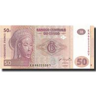 Billet, Congo Democratic Republic, 50 Francs, 2007, 2007-07-31, KM:97a, NEUF - Republic Of Congo (Congo-Brazzaville)