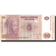 Billet, Congo Democratic Republic, 50 Francs, 2007, 2007-07-31, KM:97a, NEUF - Kongo