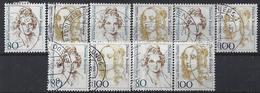 Germany 1994  Frauen (o) Mi.1755-1756 (x5) - [7] République Fédérale