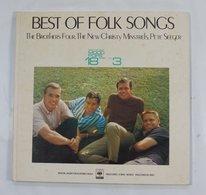Vinyl LP :  Best Of Best Mood Pops 18 Series Vol. 3  Best Of Folk Songs - World Music