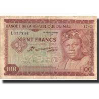 Billet, Mali, 100 Francs, 1960, 22.9.1960, KM:7a, TTB - Mali