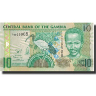 Billet, The Gambia, 10 Dalasis, 2013, 2013, KM:26, NEUF - Gambie