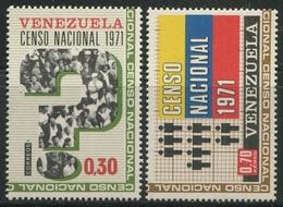 A 1971 VENEZUELA: Censo - Venezuela