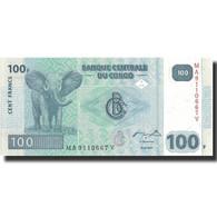 Billet, Congo Democratic Republic, 100 Francs, 2007, 2007-07-31, KM:98a, NEUF - Congo