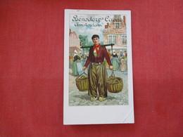 Private Mailing Card-- Bensdorp's Caeao Amsterdam  Has Creaes --- Ref 2891 - Publicité