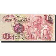 Billet, Ghana, 10 Cedis, 1978, 1978-01-02, KM:16f, SPL+ - Ghana