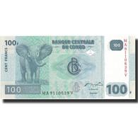 Billet, Congo Democratic Republic, 100 Francs, 2007, 31.07.2007, KM:98a, SPL+ - Democratic Republic Of The Congo & Zaire