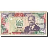 Billet, Kenya, 100 Shillings, 1992, 1992-01-02, KM:27d, TTB+ - Kenya