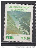 Pérou, Peru, électricité, Electricity, Barrage, Dam, énergie, Energy - Elektriciteit