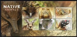 AUSTRALIA, 2015 NATIVE ANIMALS MINISHEET MNH - 2010-... Elizabeth II