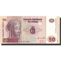Billet, Congo Democratic Republic, 50 Francs, 2000, 2000-01-04, KM:91a, NEUF - Republic Of Congo (Congo-Brazzaville)