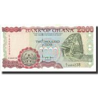 Billet, Ghana, 2000 Cedis, 1995, 1995-01-06, KM:30b, SPL+ - Ghana
