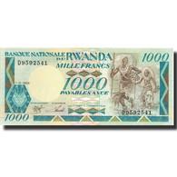 Billet, Rwanda, 1000 Francs, 1988, 1988-01-01, KM:21a, NEUF - Rwanda