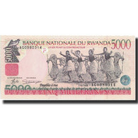 Billet, Rwanda, 5000 Francs, 1998, 1998-12-01, KM:28a, NEUF - Rwanda
