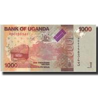 Billet, Uganda, 1000 Shillings, 2010, 2010, KM:49, NEUF - Uganda