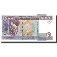 Billet, Guinea, 5000 Francs, 1998, 1998, KM:38, NEUF - Guinea
