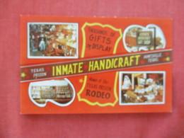 Inmate Handicraft  Texas  Prison Rodeo  Huntsville Texas  > --ref 2892 - Gevangenis