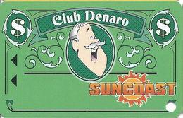 Suncoast Casino - Las Vegas, NV - BLANK Slot Card - Short 25mm PPC Over Mag Stripe - Casino Cards