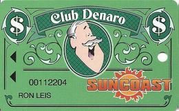 Suncoast Casino - Las Vegas, NV - Slot Card - Short 25mm PPC Over Mag Stripe - Casino Cards