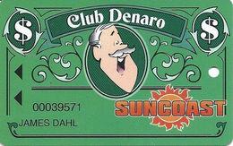 Suncoast Casino - Las Vegas, NV - Slot Card - Cpi 2001121 Over Mag Stripe - Cartes De Casino