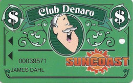 Suncoast Casino - Las Vegas, NV - Slot Card - Cpi 2001121 Over Mag Stripe - Casino Cards