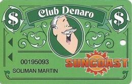 Suncoast Casino - Las Vegas, NV - Slot Card - Cpi 2006461 Over Mag Stripe - Casino Cards