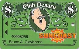 Suncoast Casino - Las Vegas, NV - Slot Card - Cpi 2007659 Over Mag Stripe - Casino Cards