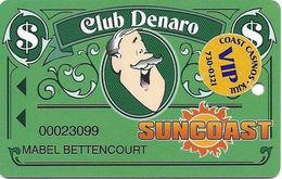 Suncoast Casino - Las Vegas, NV - Slot Card - Cpi 2007659 Over Mag Stripe + VIP Sticker - Casino Cards