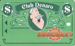 Suncoast Casino - Las Vegas, NV - BLANK Slot Card - Long 32mm PPC Over Mag Stripe - Casino Cards