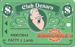Suncoast Casino - Las Vegas, NV - Slot Card - Long 32mm PPC Over Mag Stripe - Cartes De Casino