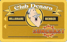 Suncoast Casino - Las Vegas, NV -  BLANK Millionaire Member Slot Card - PPC Over Mag Stripe - Casino Cards