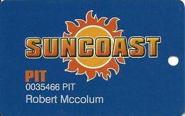 Suncoast Casino - Las Vegas, NV -  PIT Slot Card - Casino Cards