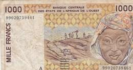 BILLET DE BANQUE...ETATS DE L'AFRIQUE DE L'OUEST.1000 FRANCS - Other - Africa