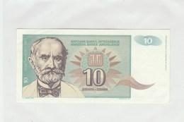 BILLET DE BANQUE...YOUGOSLAVIE  10 - Yugoslavia