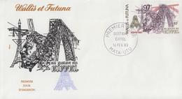 Enveloppe  FDC   1er   Jour     WALLIS  Et  FUTUNA     Gustave   EIFFEL    1983 - FDC