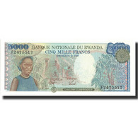Billet, Rwanda, 5000 Francs, 1988, 1988-01-01, KM:22, NEUF - Rwanda