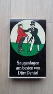 Streichholzschachtel Mit Historischem Motiv (Werbung DÜRR DENTAL) - Zündholzschachteln