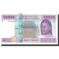 Billet, États De L'Afrique Centrale, 10,000 Francs, 2002, 2002, KM:410A, NEUF - États D'Afrique Centrale