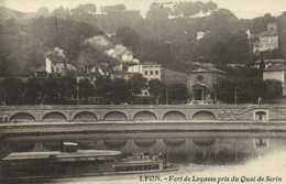 LYON  Fort De Loyasse Pris Du Quai De Serin Recto Verso - Lyon