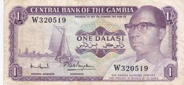 Gambie - Billet De 1 Dalasi - Sir Dawda Kairaba Jawara - Non Daté - Gambia