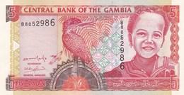 Gambie - Billet De 5 Dalasis - Non Daté - Neuf - Gambie
