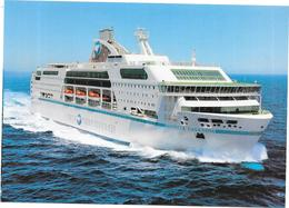 Cruise Ferry DANIELLE CASANOVA De La  SNCM - CCC/DRO - - Ferries