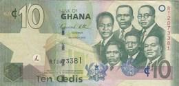 Ghana - Billet De 10 Cedis - 6 Mars 2010 - Ghana
