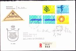 Liechtenstein - Naturschutz (MiNr: 460/3) 1966 - FDC * - FDC