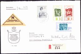 Liechtenstein - Ausgabe 7.12.1965  100 Geb. Nigg + Fürtin Gina (MiNr: 455/7 + 459) 1965 - FDC * - FDC